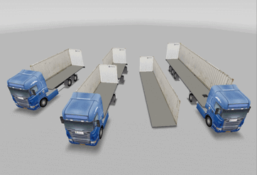 Types of the cargo spaces