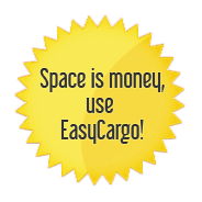 Space is money, use EasyCargo!