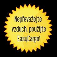 Nepřevážejte vzduch, použijte EasyCargo