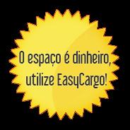 O espaço é dinheiro, utilize EasyCargo!