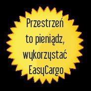 Przestrzeń topieniądze, korzystaj zEasyCargo!
