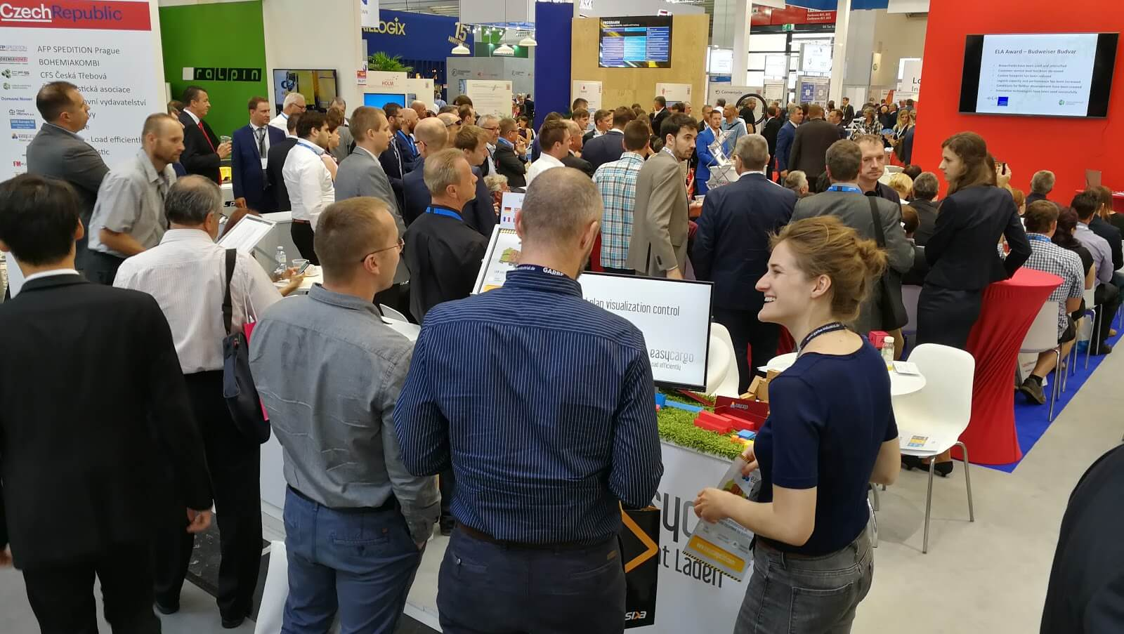 Visitors at Transport Logistic 2019