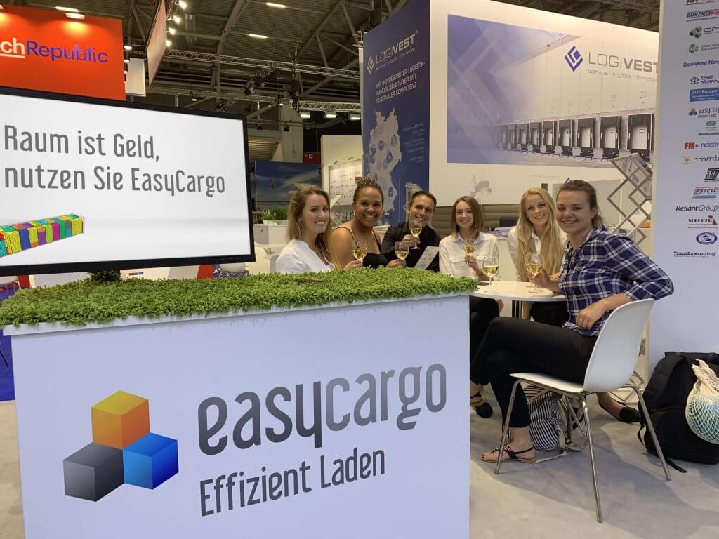EasyCargo networking au salon Transport Logistic 2019