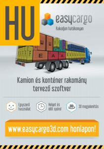EasyCargo Leaflet A4 HU