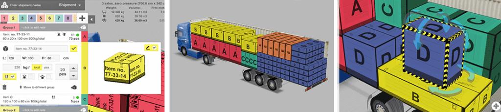 EasyCargo - Sử dụng hiệu quả không gian vận chuyển hàng hóa