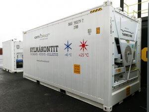 Dvacetistopý  ISO chlazený kontejner