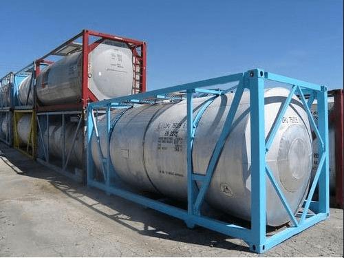 Dvacetistopý ISO tankový kontejner