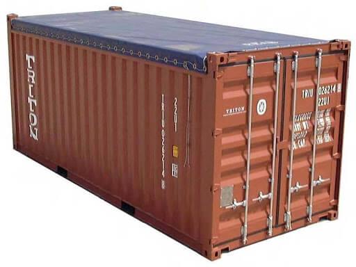 Dvacetistopý open top kontejner