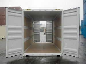 Tunnel container - truck loading software