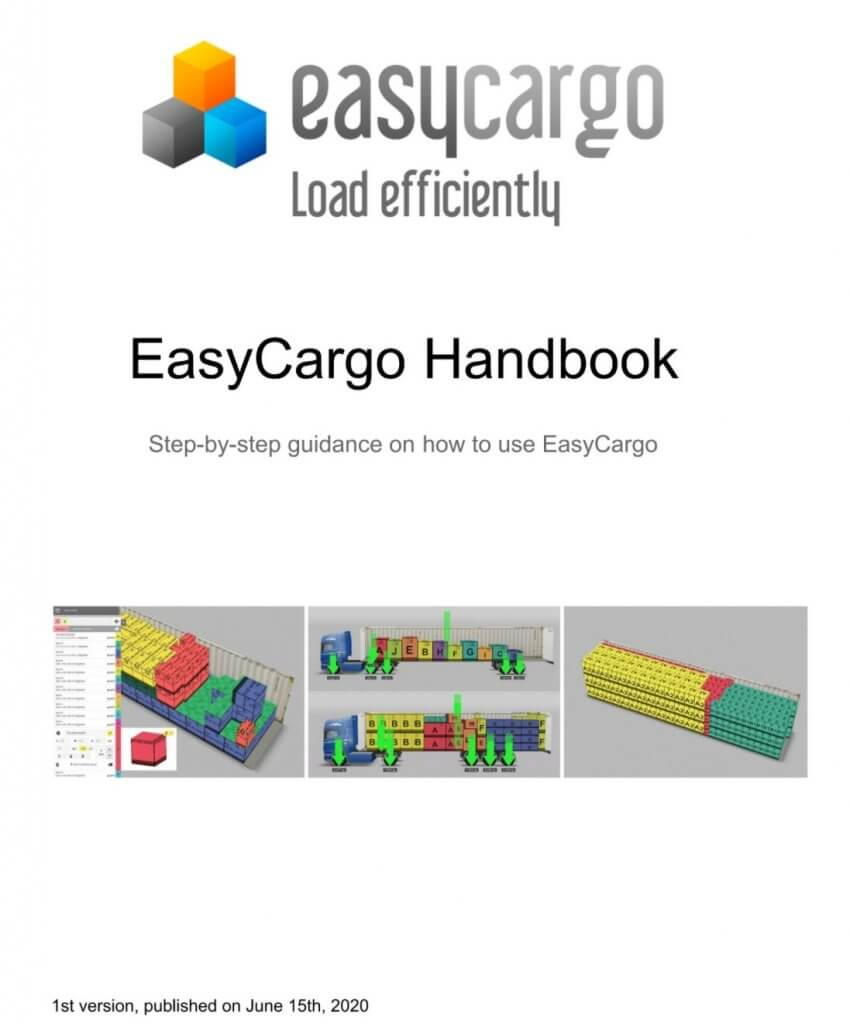 EasyCargo Handbook - Step-by-Step Guidance On How To Use EasyCargo cargo loading planner