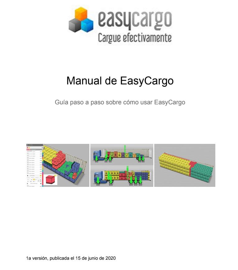 El manual para planear la carga en EasyCargo