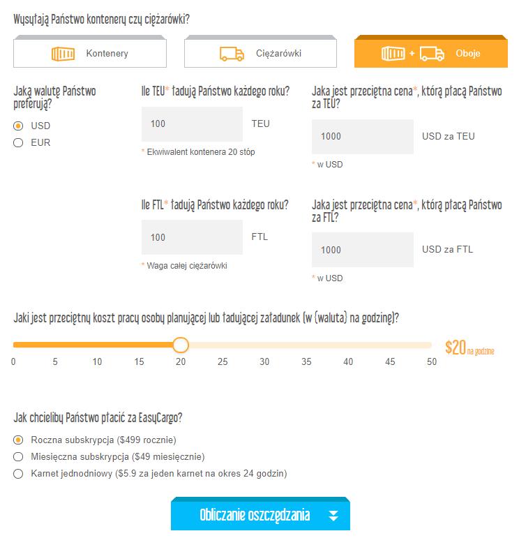 Kalkulator oszczędności