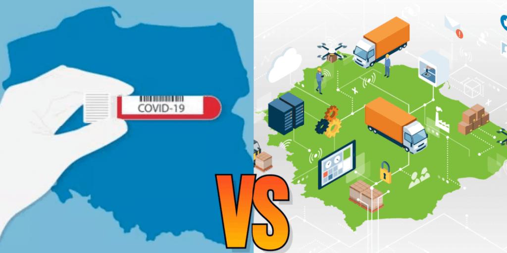 Pandemia COVID-19 vs branża logistyki