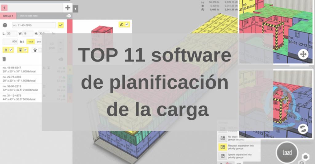 TOP 11 software de planificación de la carga